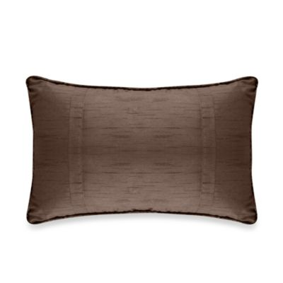 Diamonte Boudoir Toss Pillow in Chocolate