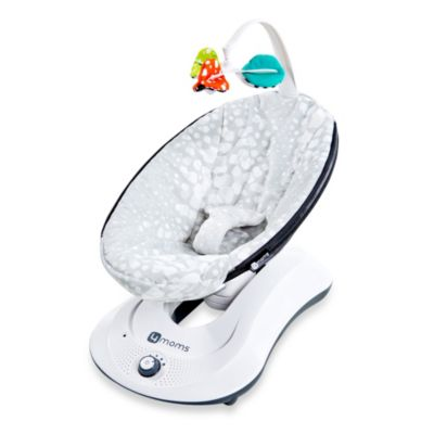 4moms® rockaRoo® Plush Infant Seat in Silver