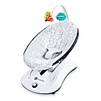 4moms® rockaRoo™ Plush Infant Seat in Silver