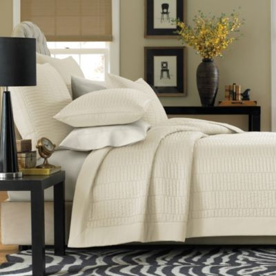 Real Simple Dune Coverlet in Ivory