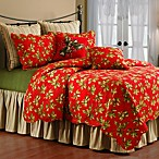 Mistletoe & Holly Standard Pillow Sham