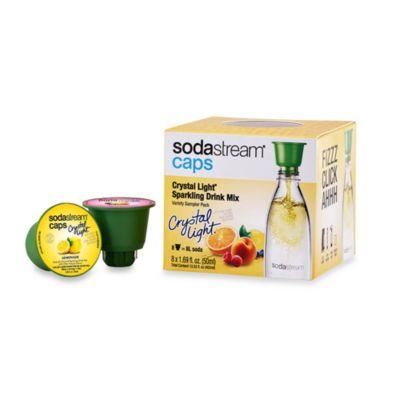 SodaStream Caps 8-Count Crystal Light® Sparkling Drink Mix Variety Sampler Pack