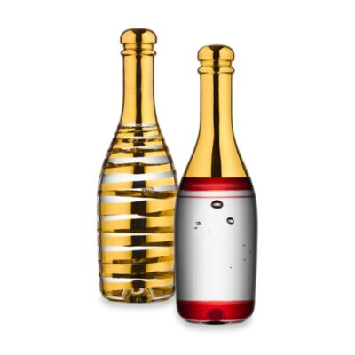 Kosta Boda Celebrate Wine and Champagne Collection in Gold
