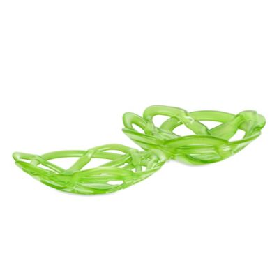 Green Glass Decorative Bowls