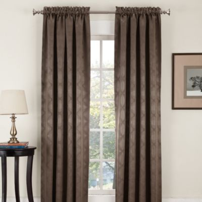 Velocity Pole Top Window Curtain Panels