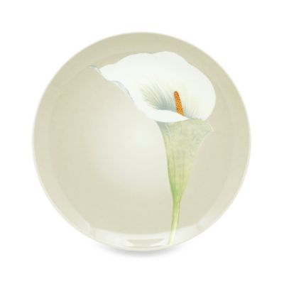 Noritake® Colorwave Cream 9-Inch Accent Plate with Calla Lily