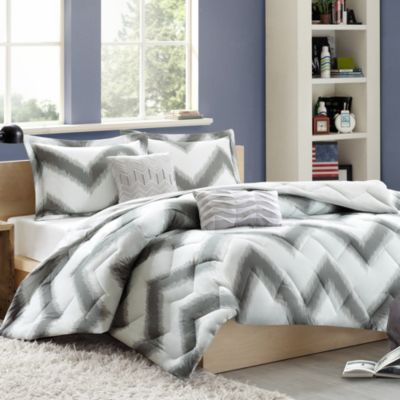 Cozy Soft® Chevron 4-5 Piece Reversible Comforter Set