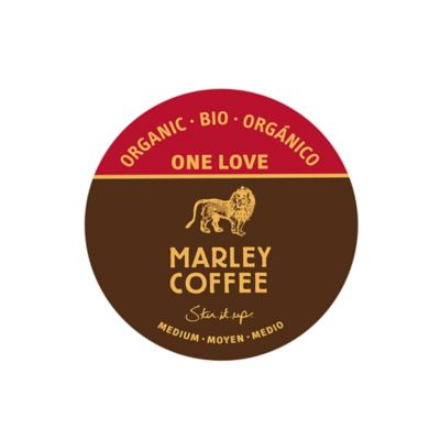 16-Count Marley's Organic One Love Coffee for Single Serve Coffee Makers