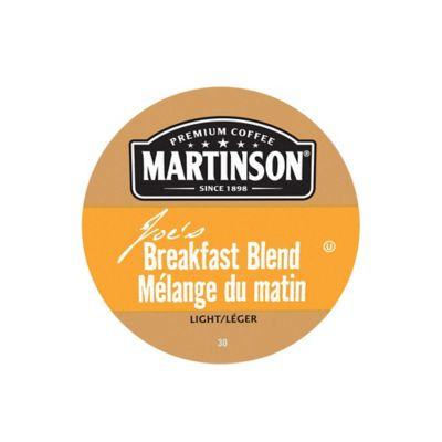 18-Count Martinson's® Breakfast Blend Coffee for Single Serve Coffee Makers
