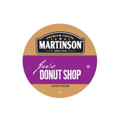 18-Count Martinson's® Donut Shop Blend Coffee for Single Serve Coffee Makers