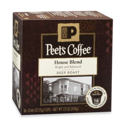 16-Count Peet's Coffee House Blend for Keurig® K-Cup® Coffee Brewers