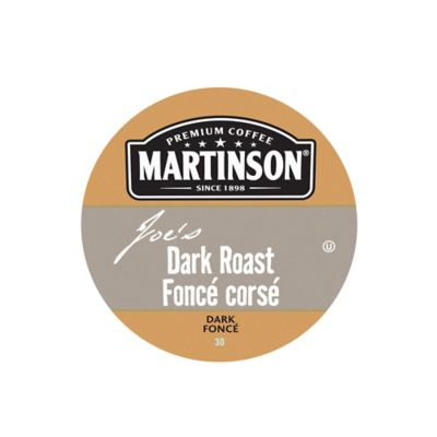 18-Count Martinson's® Dark Roast Coffee for Single Serve Coffee Makers