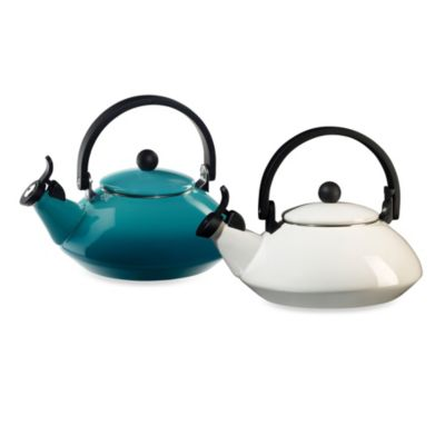 Le Creuset® Zen 1.6 qt. Tea Kettle in White