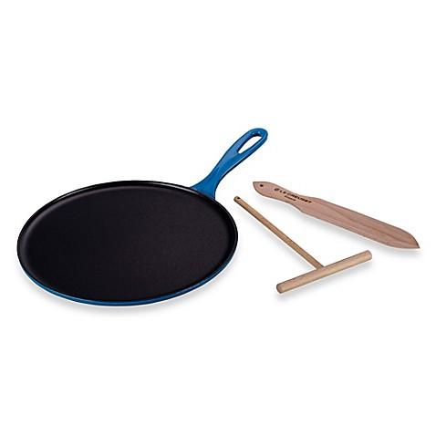 Le Creuset 174 10 75 Inch Cast Iron Crepe Pans