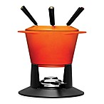Le Creuset 1.75-Quart Fondue Set in Flame