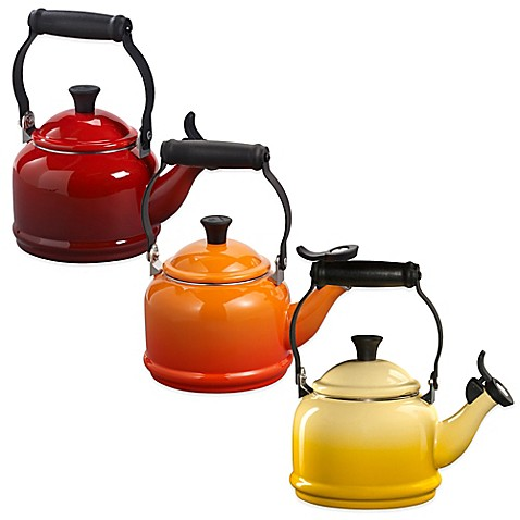 Le Creuset Demi 1 1/4-Quart Tea Kettle - Dijon