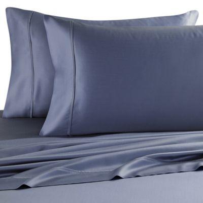 Eucalyptus Origins™ Sleep Renew Tencel Lyocell Standard Pillowcases in Blue Jean (Set of 2)