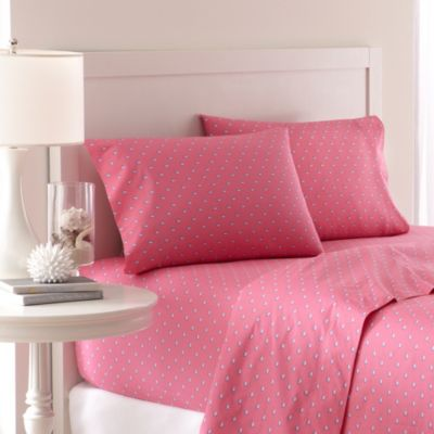 Southern Tide® Skipjack 200 Thread Count Full Sheet Set in Sunset Pink