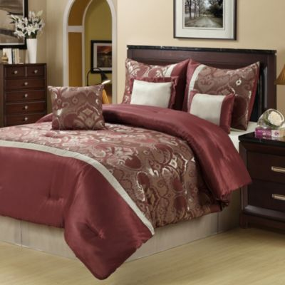Nalah 8-Piece Queen Comforter Set