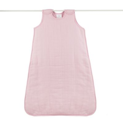 aden + anais® Cozy Plus™ 100% Cotton Muslin Small Sleeping Bag in Rose by Dusk