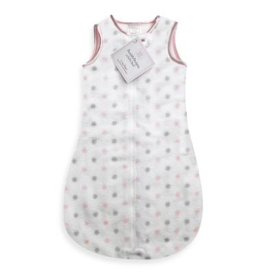 Swaddle Designs® Size 3M-6M Cozy zzZipMe Sack in Pink Dots