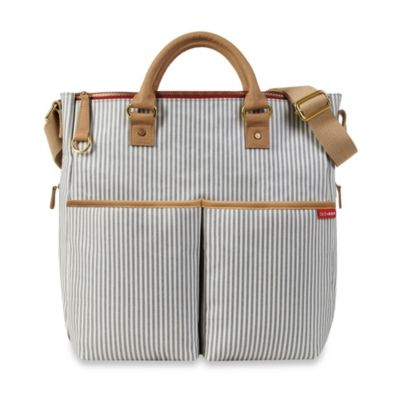 SKIP*HOP® Duo Special Edition Luxe Diaper Bag in French Stripe