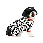 Zebra Print Pet Pajamas