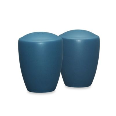 Noritake® Colorwave Salt and Pepper Shakers in Blue