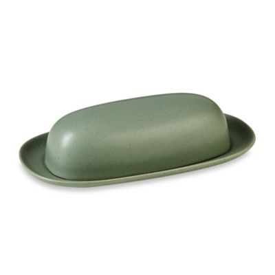 Noritake® Colorwave Green 9-Inch Covered Butter Dish