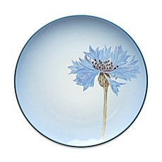 Noritake® Colorwave Rim Floral Accent Plate in Blue