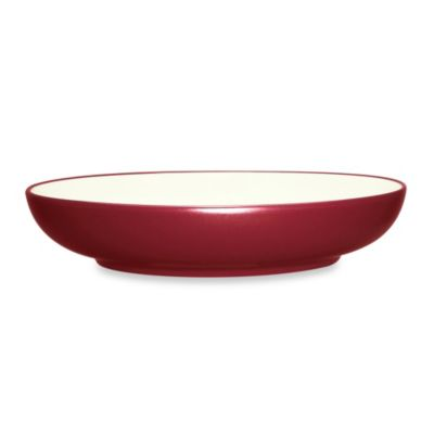 Noritake® Colorwave Raspberry 89-Ounce Pasta Serving Bowl