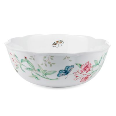Lenox® Butterfly Meadow® 10-Inch Medium Serving Bowl