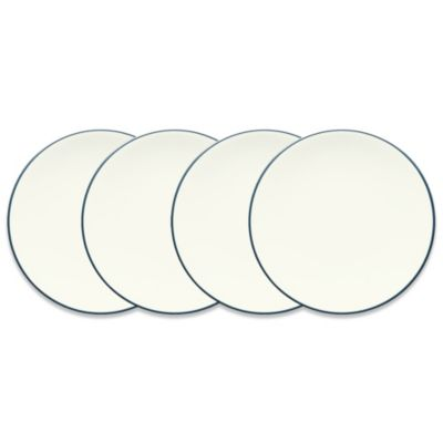 Colorwave Blue 6 1/4-Inch Mini Plates by Noritake (Set of 4)