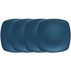 Noritake® Colorwave Mini Quad Plates in Blue (Set of 4)