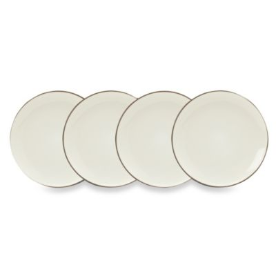 Noritake® Colorwave Chocolate 6 1/4-Inch Mini Plates (Set of 4)