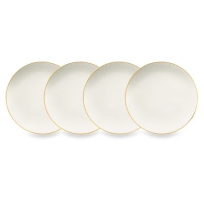 Noritake® Colorwave 6.25-Inch Mini Plates in Mustard (Set of 4)