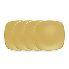 Noritake® Colorwave Mini Quad Plates in Mustard (Set of 4)