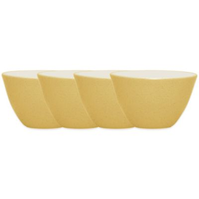 Noritake® Colorwave Mini Bowls in Mustard (Set of 4)