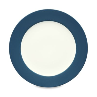Noritake Colorwave Rim Salad Plate in Blue
