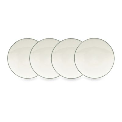 Noritake® Colorwave Green 6 1/4-Inch Mini Plates (Set of 4)