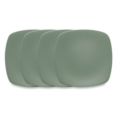 Noritake® Colorwave Green 6 1/4-Inch Mini Quad Plates (Set of 4)