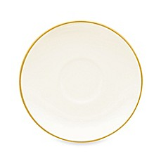 Noritake® Colorwave After-Dinner Saucer in Mustard