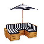 KidKraft® Outdoor Sectional in Honey
