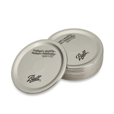 Ball® Wide-Mouth Jar Lids (Set of 12)
