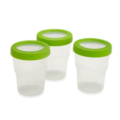 Ball® Plastic 8-oz. Freezer Jars (Set of 3)