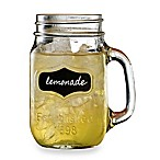 Yorkshire 17.5-Ounce Chalkboard Mason Jar Glasses (Set of 4)