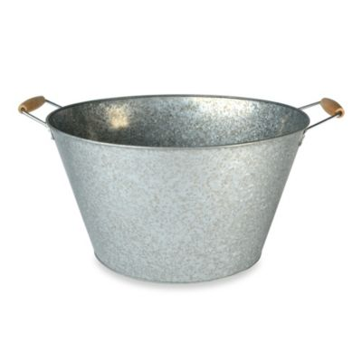 Oasis Galvanized Steel Oval Party Tub