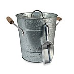 Artland® Oasis Galvanized Steel Ice Bucket with Scoop