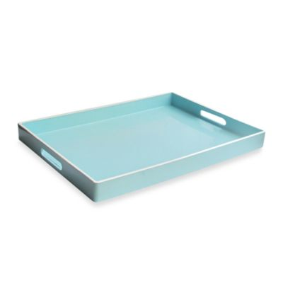 Rectangular Serving Tray in Teal