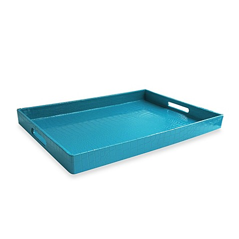 American Atelier Serving Tray in Teal